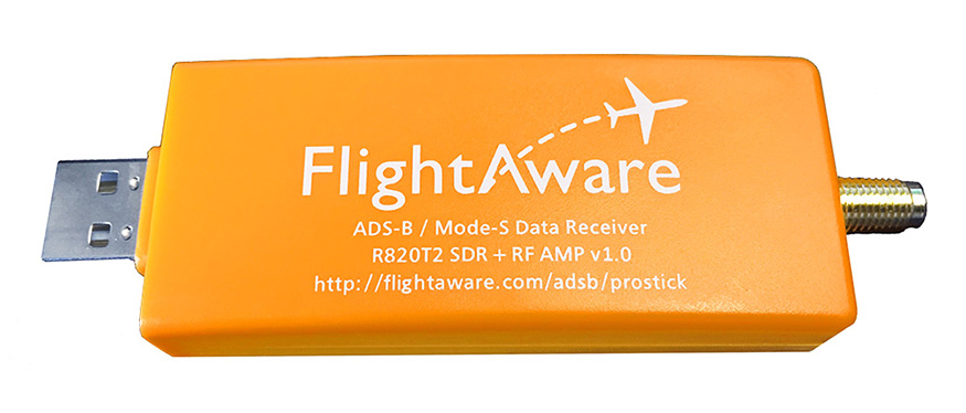 FlightAware Pro Stick - USB ADS-B and MLAT Receiver
